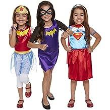 DC Super Hero Niñas 69388-eu Dress Up Trunk (21piezas, un tamaño)