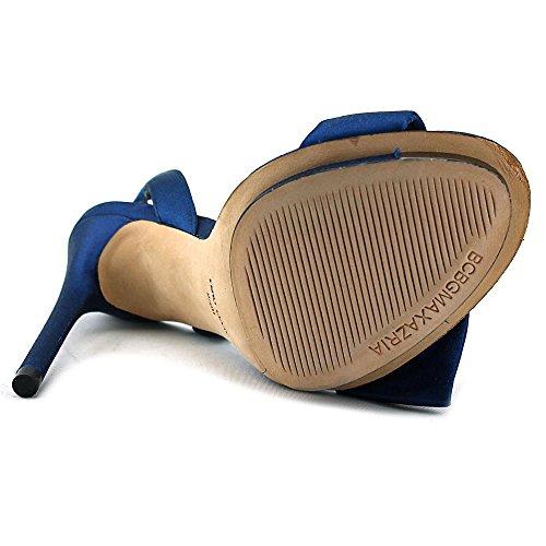 BCBG Max Azria Lavi Damen Textile Plateausandale Blue Iris
