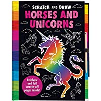 Scratch and Draw Horses and Unicorns