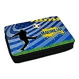 Eurofoto Schul-Mäppchen mit Namen Maximilian und schönem Fußball-Motiv für Jungen