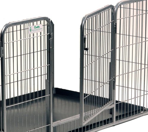 Crufts Safe and Sturdy Freedom Puppy Play Pen - 27 ins high 5