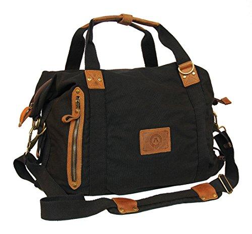 Convertible Schulter Tasche (Kakadu Traders Weekender Schultertasche RHINO CONVERTIBLE)
