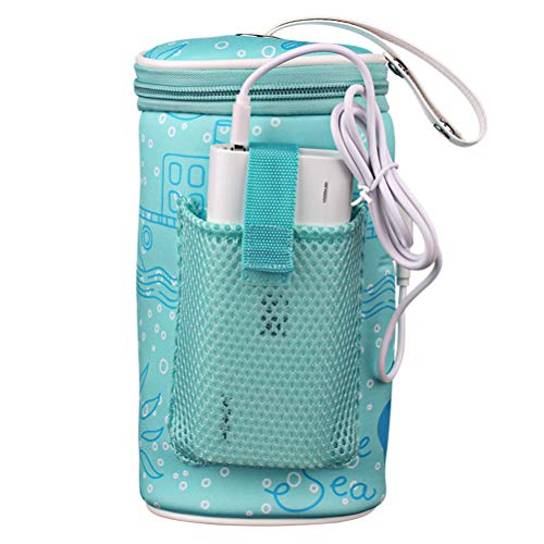 Scaldabiberon portatile ricaricabile usb di ricarica per biberon scalda biberon scaldino per biberon imbottito borsa termica per termostato