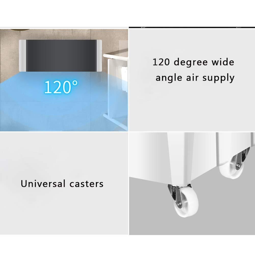 JYSD Strahlungsfreier tragbarer Klimaanlagenlüfter und Luftbefeuchter leiser Kühlluftkühler für Zuhause in der Arktis