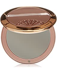 Danielle Creations or rose swarovski simple Ventilateur Miroir compact avec Blush/Gris acier