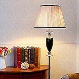 DHG Europäische Retro Klassische Kristall Stehlampe American Kreative Wohnzimmer Neo Klassische Schwarze Mode Französisch Stehlampe,Stehlampe,Höhe: 160 cm