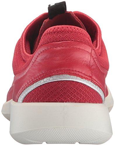 Ecco Soft 5, Baskets Basses Femme Rouge (50354Tomato/Tomato-Concrete)