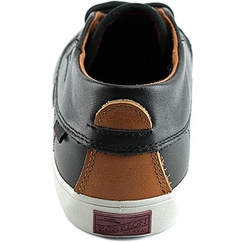 Lakai Camby Mid Dqm Herren Skateboardschuhe Black/Brown Leather