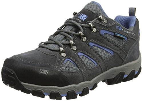Karrimor Bodmin Low 5 Ladies Weathertite Uk 6, Chaussures de Randonnée Basses Femme Gris (Grey)
