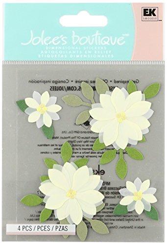 Jolee S Boutique Dimensional Stickers (Jolee 's Boutique spjc034Jolees Boutique Aufkleber 3D Vanille Blumen)
