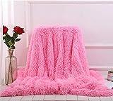 SWECOMZE Kuscheldecke Decke für Kinder, Flauschig Weiche Decke Haustier Bett Stuhl Sofa (Pink, 130 * 160cm)