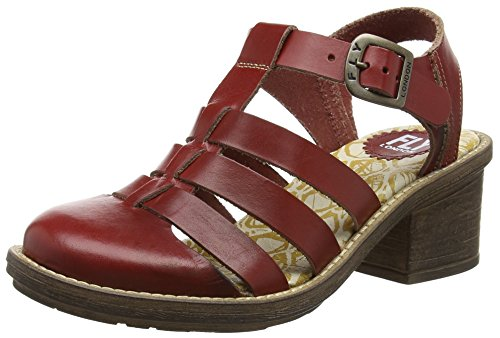 Fly London - Celos511fly, Sandali Donna Rosso (Rosso (Red))