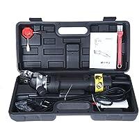 Vinteky® Máquina esquiladora de 320W Recortadora en Granja Trasquilador Eléctrica para Oveja Cabras Llamas 5m larga cable de alimentación Fácil de manejar y Práctico