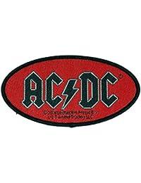 –Parche–AC/DC ovalado Logo