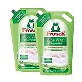 2x Frosch Aloe Vera Waschmittel 1,8 Liter - Sensitiv mit Aloe Vera
