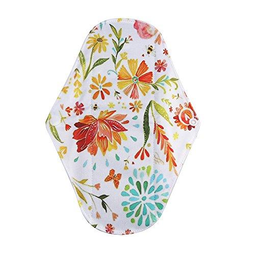 Pageantry Frau Waschbar Tante Handtuch Pad Reusable Waschbare Wiederverwendbare Bambus-Tuch waschbar Menstruationskissen Mama Sanitär Handtuch Pad Menstruations-Pad -
