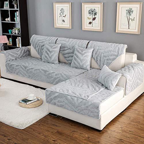 YLCJ 1 Stück Kindersofa Möbel Protector Futter für 3 Sitz Sofa L Form Modular Verdicken Schnittsofa Abdeckung Pad Anti-Rutsch