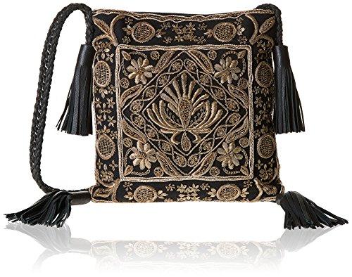 Antik Batik Zarina, Borsa a spalla donna, oro (Oro (Gold)), Taglia unica