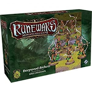 Fantasy Flight Games FFGRWM16 Deepwood Archers Expansion Pack: Runewars Miniatures Game