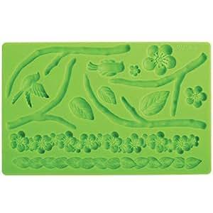 Stampo silicone natura Wilton per pasta di zucchero