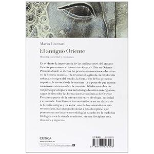 El antiguo Oriente: Historia, sociedad y economía (Crítica/Arqueología)