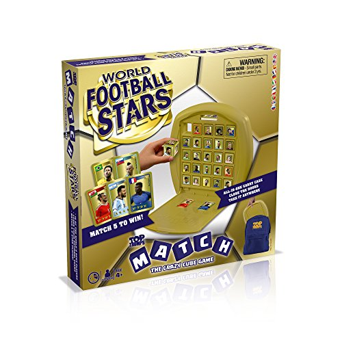 Winning Moves GmbH 3220 - Top Trumps Match: World Football Stars (multilingual) (Kinder Ronaldo)