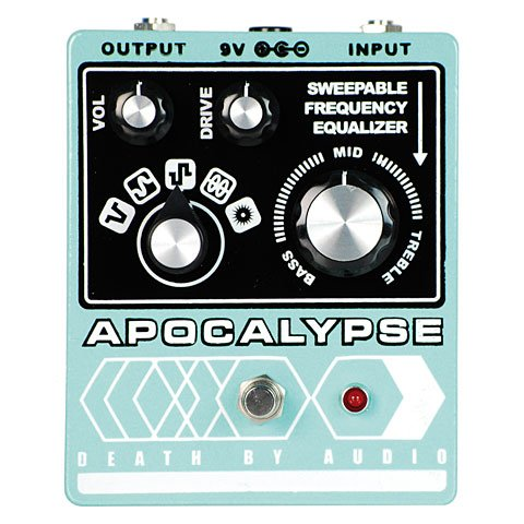 Death By Audio Apocalypse Fuzz · Pedal guitarra eléctrica
