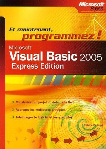 Visual Basic 2005 par Patrice Pelland