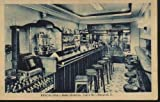 POSTAL ANTIGUA DE PUBLICIDAD - Old Advertising Postcard : BARCELONA - Hotel Moderno - Salon Bar