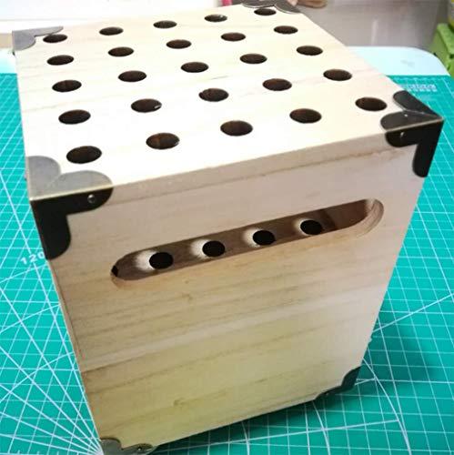 Köcherpfeile Boden-zu-Decke Pfeil Rahmen Bogensporttasche Pfeil Feld vertikale Einfügung Pfeil Log Pfeil Rahmen Tasche aus Bogenschießen Laseröffnung Köcher -