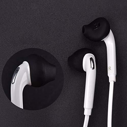 Printme Anti-Slip Silicone Ear Buds for S7edge S7 S6edge, Samsung Level U EO-BG920 Bluetooth Earphone Piece of 10 in Black Image 7