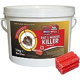 Knockout rata y ratón Killer bloque de cebo rodenticida
