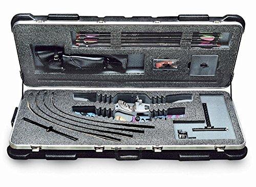 SKB Reise - Transportkoffer für Zerlegten Recurvebogen, schwarz, 106.7 X 35.6 X 20.3 cm, 2SKB-4214RC