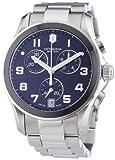 Victorinox Swiss Army - 241544 - Montre Homme - Quartz Chronographe - Chronomètre/Aiguilles/Luminescent - Bracelet Acier Inoxydable Argent