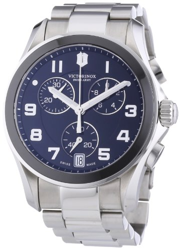 Victorinox Swiss Army Men's Quartz Watch Classic Chrono Classic 241544 with Metal Strap