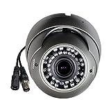 Cámara CCTV híbrida SKYVIEW HD 1080P, 2MP TVI / CVI / AHD / CVBS 4 en 1, lente varifocal de 2.8-12 mm, 36 IR LED, visión nocturna día IR Cut, interior / exterior IP66 Cámara de seguridad de vigilancia resistente a la intemperie - Salida TVI predeterminada