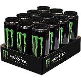 12 Dosen a 553ml Mega Monster Energy wiederverschließbare Dose Energy Drink inc.3,00€ Einweg Pfand grün