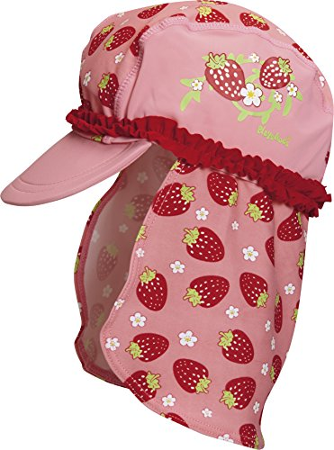 Playshoes Girl's UV Sun Protection Swim Sun Hat Strawberries Cap