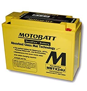 MOTOBATT batterie mBTX24U prix légaux batterie livrée avec 7,50 €tTC
