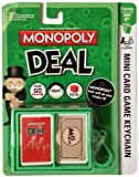 B & F Monopoly Deal mini card Game Keychain