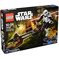 "LEGO UK 75532 ""Scout Trooper and Speeder Bike"" Construction Toy"