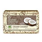 Desert Essence Bar Soap, Creamy Coconut,...