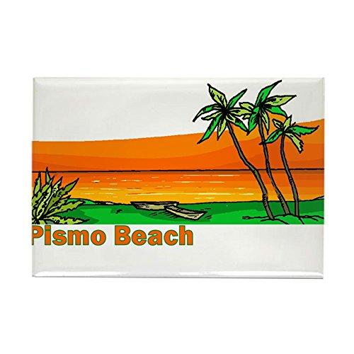 CafePress-Pismo Beach, Kalifornien-Rechteck Magnet, 5,1x 7,6cm Kühlschrank Magnet