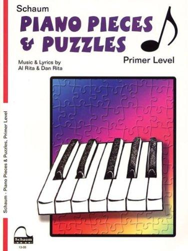 Alfred 44-1305 Piano Pieces y Rompecabezas-Primer - Music Book