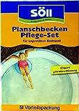 Söll Wasserpflege-Set AquaDes und Algenfrei für Pools, Schwimmbad und Planschbecken gegen Algen, Batkerien, Pilze und Sporen (AquaDes 2,5 l + AlgenFrei 2,5 l)