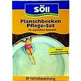 Söll Juego de cuidado de agua AquaDes y antialgas para piscinas, piscina y planschbecken contra algas, batkerien, setas y espuelas