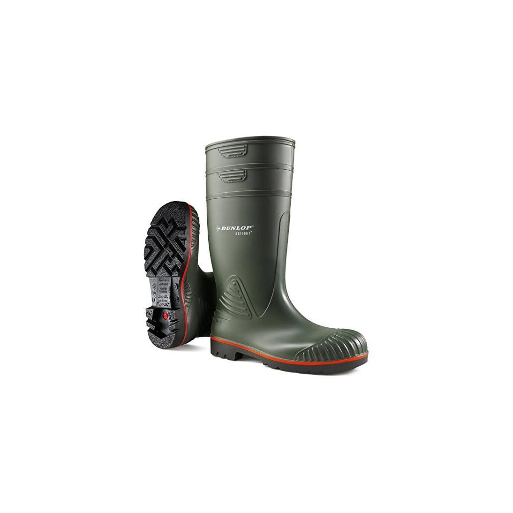 Dunlop-A442631-S5-ACIFKnie-Unisex-Erwachsene-Langschaft-Gummistiefel