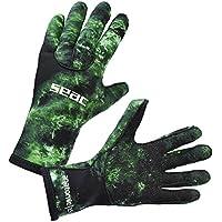 Seac 0160045067105a, guantes unisex–adulto, verde, talla única