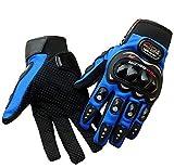 #8: OSS-FUEL 1-blue-l Pro-Biker Motorcycle/Bike Riding Gloves L(Blue_Large)