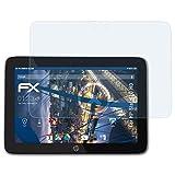 atFolix Schutzfolie kompatibel mit HP Slate 10 HD Panzerfolie, ultraklare & stoßdämpfende FX Folie (2X)